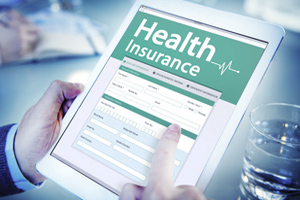 health insurance online concept