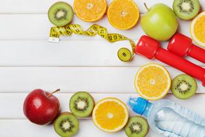 wellness plan diet concept