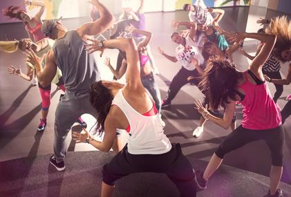 zumba fitness dancing